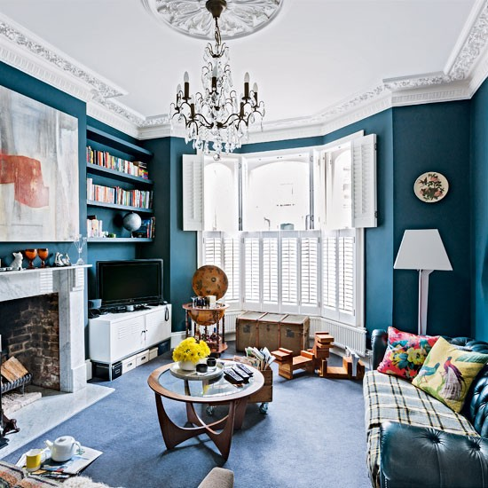 Living area | Be inspired by an eclectic Victorian flat in north London | Victorian house | House Tour | PHOTO GALLERY | Livingetc | Housetohome
