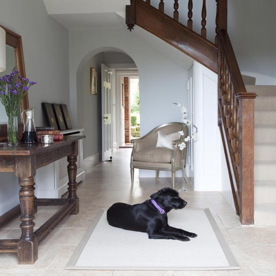 Beautiful Front Hall And Staircase: Georgian House