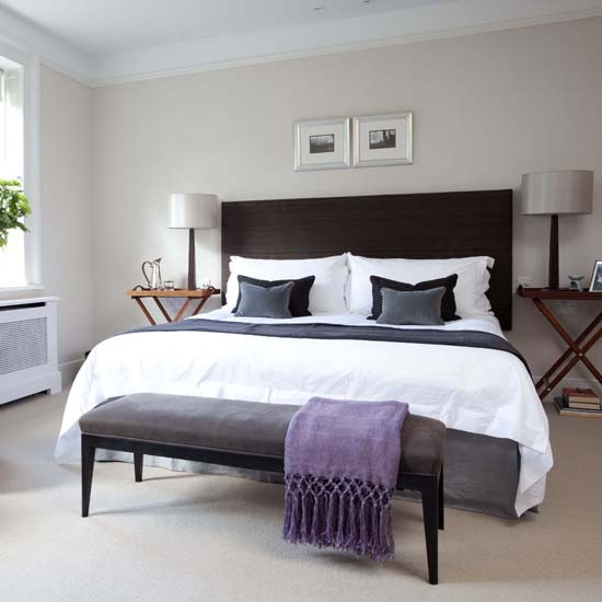 Master bedroom House tour Georgian house 25  : Master bedroom traditional 25 Beautiful Homes from www.housetohome.co.uk size 550 x 550 jpeg 43kB