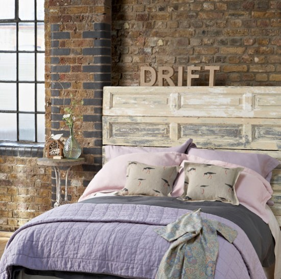 Rustic meets industrial bedroom | Bedroom designs | Country Homes & Interiors | Housetohome