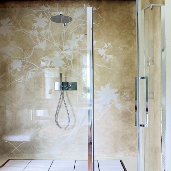 Add a bespoke mural | Shower rooms | Bathroom | PHOTO GALLERY | Housetohome.co.uk