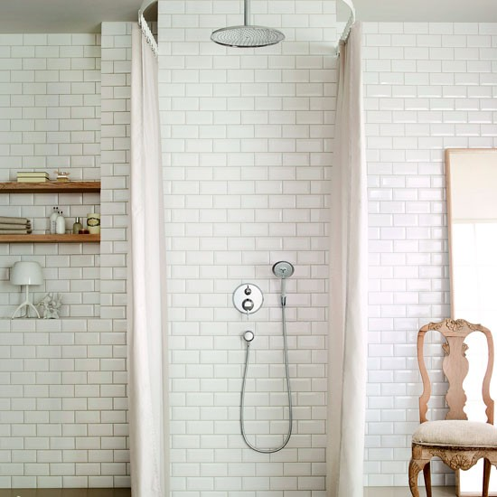 Keep it simple with traditional tiles | Shower rooms | Bathroom | PHOTO GALLERY | Housetohome.co.uk