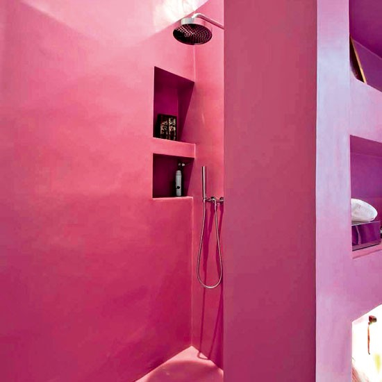 Use tadelakt to create a Moroccan hammam spa | Shower rooms | Bathroom | PHOTO GALLERY | Housetohome.co.uk