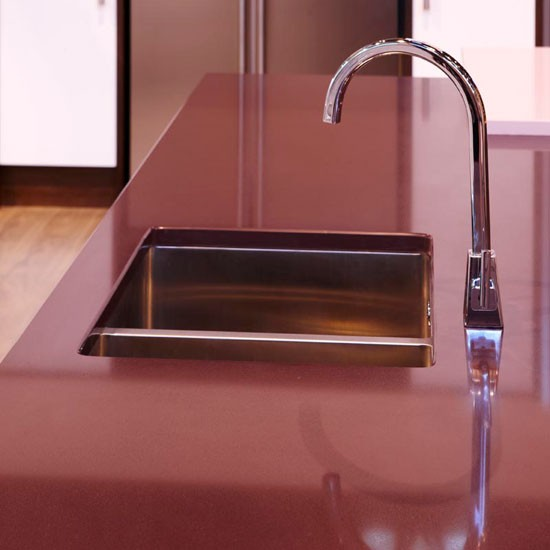 Zodiaq composite worktop | Kitchen | PHOTO GALLERY | Beautiful Kitchens | Housetohome.co.uk