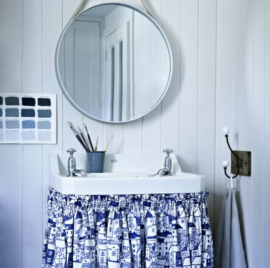 Cornish-style bathroom | Bathroom ideas | Homes & Gardens | Housetohome