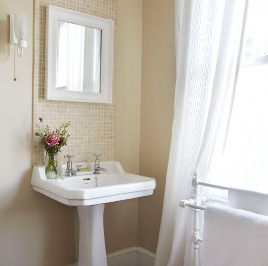 light filled neutral bathroom traditional bathroom ideas