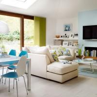 Garden room living area