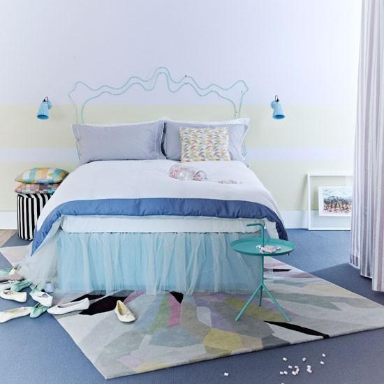 Punchy pastel bedroom modern bedroom decorating ideas for Bedroom inspiration pastel