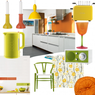 Zesty citrus kitchen
