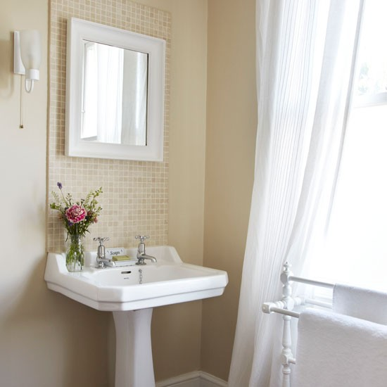 Bathroom step inside this light filled edwardian terrace for Ideal home bathroom ideas