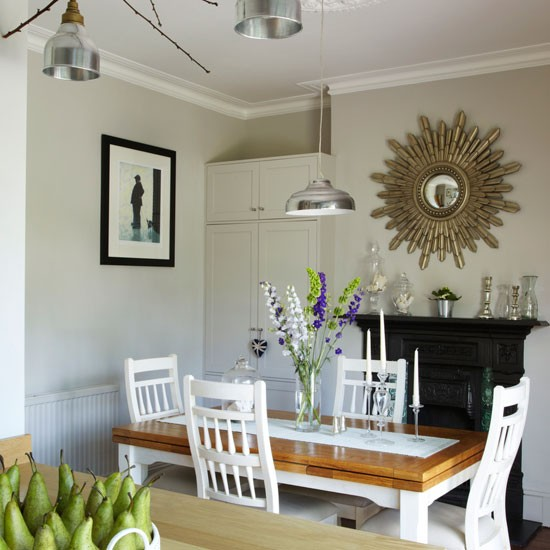 Dining room step inside this light filled edwardian for Terraced house dining room ideas