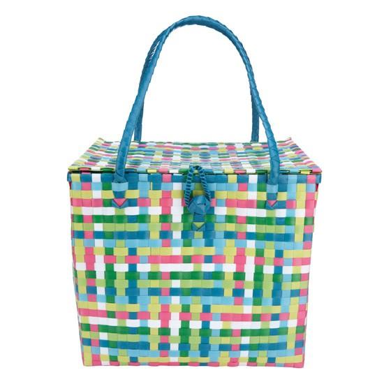 Red Plastic Picnic Basket : Plastic picnic basket