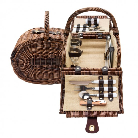 Willow picnic hamper from Mollie & Fred | Picnic hampers and