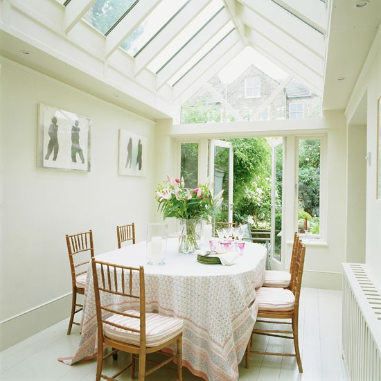 pitched roof family dining conservatory conservatory. Black Bedroom Furniture Sets. Home Design Ideas