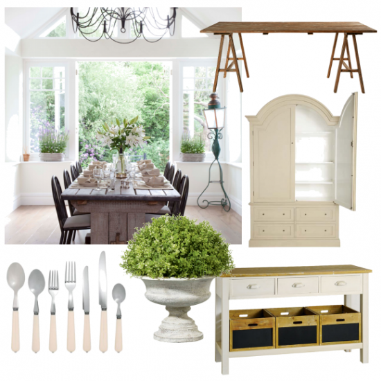 Chic country dining