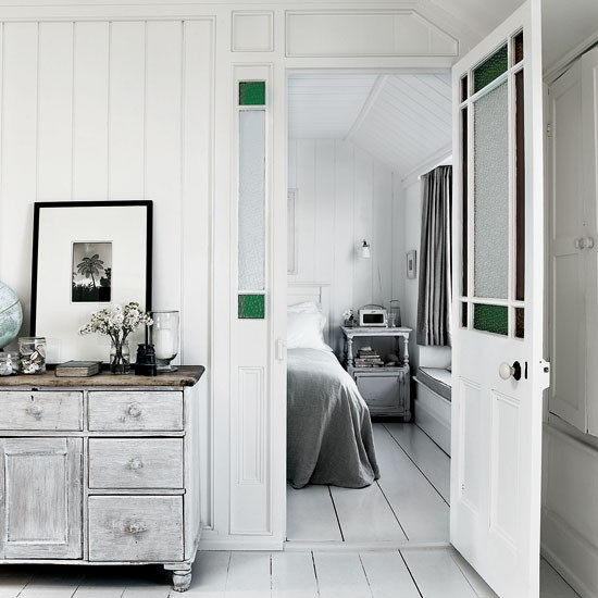 Fresh white rustic hallway | Hallway decorating ideas | Livingetc | Housetohome