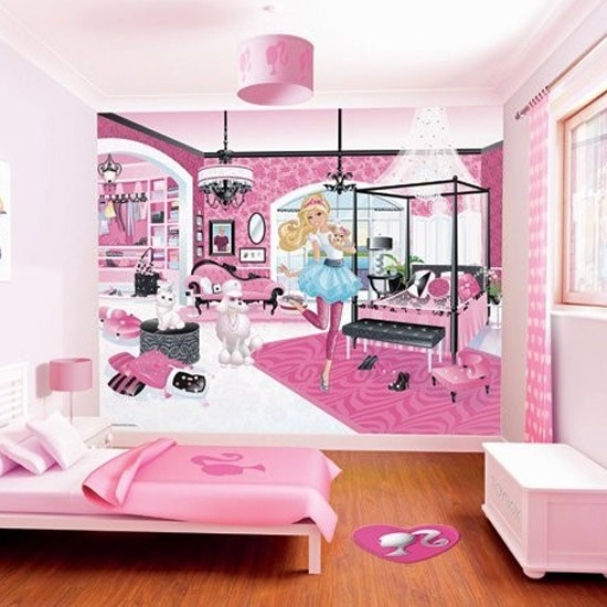 Barbie wallpaper by Walltastic | Children's wallpapers | housetohome.