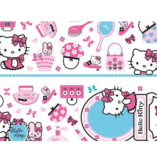 Hello Kitty Wall Sticker from Homebase | Children's wallpapers ...