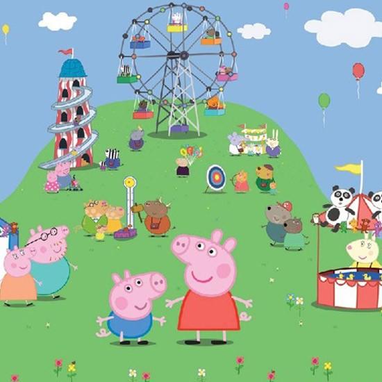 Peppa Pig wallpaper by Walltastic | Children's wallpapers ...