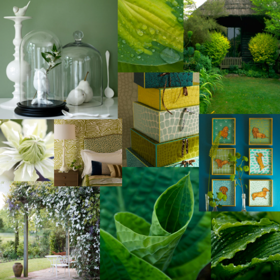 Green to dream inspiration
