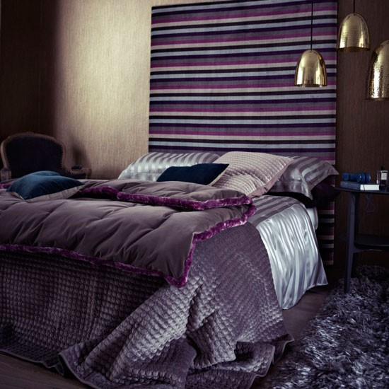 Horizontal velvet bedroom | Modern bedrooms | PHOTO GALLERY | Livingetc