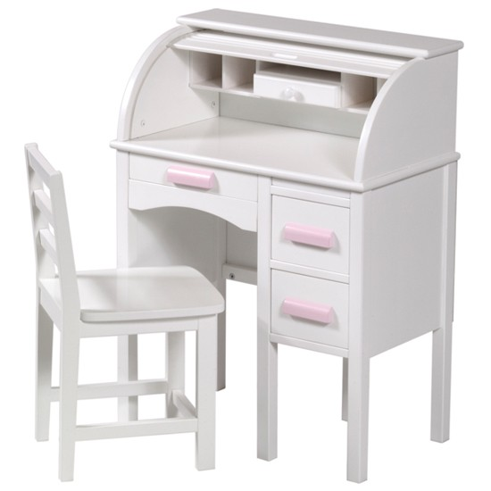 Guidecraft Jr Rolltop Desk In White From Kid 39 S Playstore