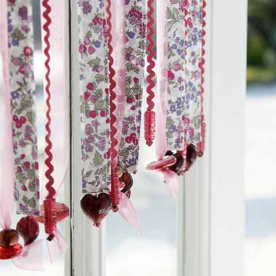 Attractive Sew A Pretty Beaded Ribbon Curtain With This Project From Country . ...