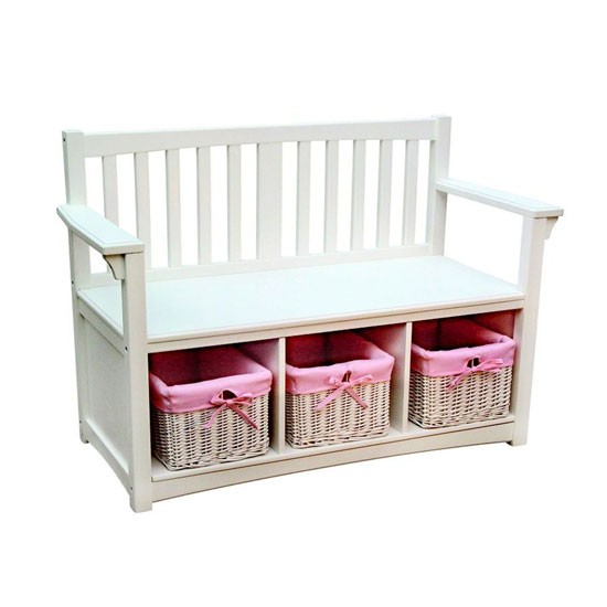 Classic storage bench from Liberty House Toys | Childrens country style storage - 10 of the best