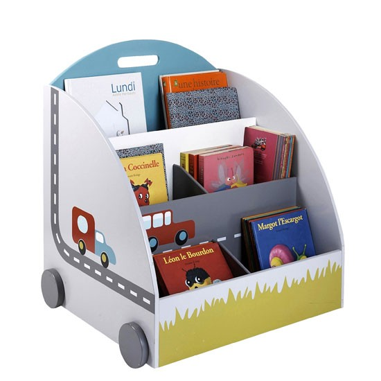 Mobile storage library from Vertbaudet | Childrens country style storage - 10 of the best