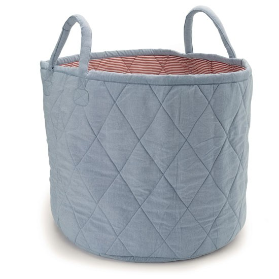 Chambray bag from The White Company | Childrens country style storage - 10 of the best