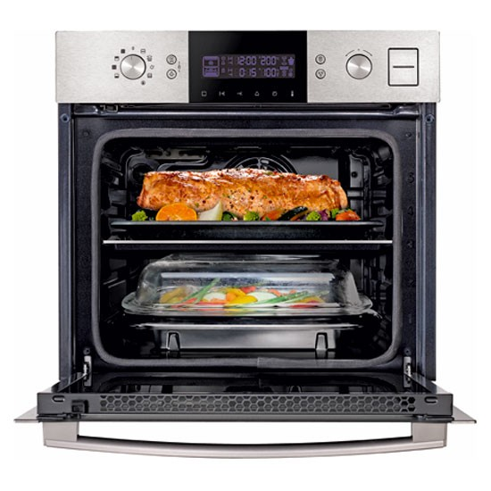 Dual Cook Steam Oven From Samsung Kitchen Appliances For