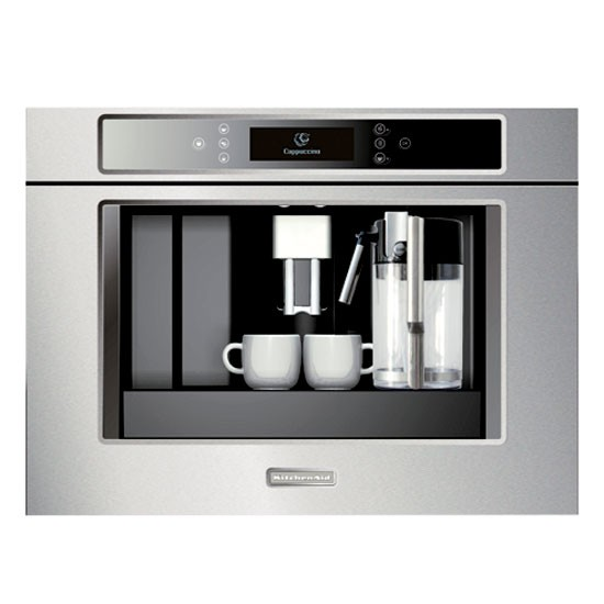 built in coffee machine from kitchen aid kitchen. Black Bedroom Furniture Sets. Home Design Ideas
