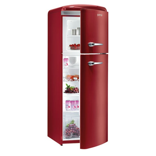 Retro Fridge Freezer From Gorenje Kitchen Appliances For