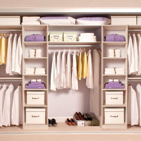 Tidy Bedrooms® four-door wardrobe interior | Bedroom ideas | PHOTO GALLERY | Housetohome.co.uk