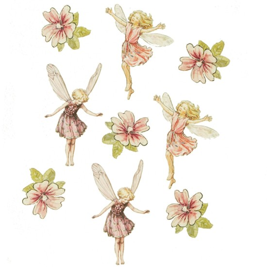Flower fairies wall sticker from aspace wall stickers for childrens