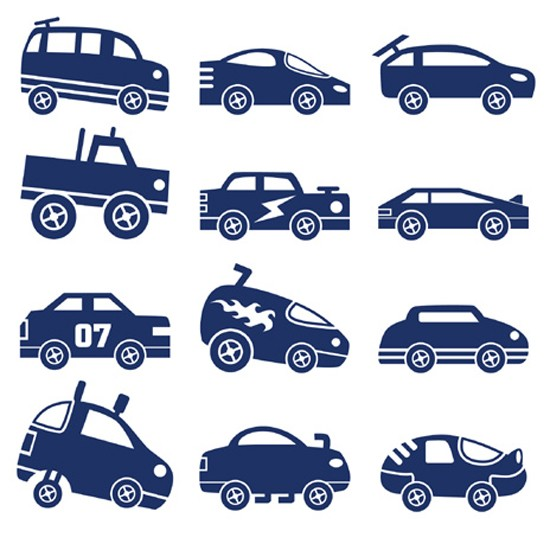 Matchbox cars from Spin Collective | Wall stickers for kids | Wall stickers | Children's rooms | PHOTO GALLERY | Housetohome