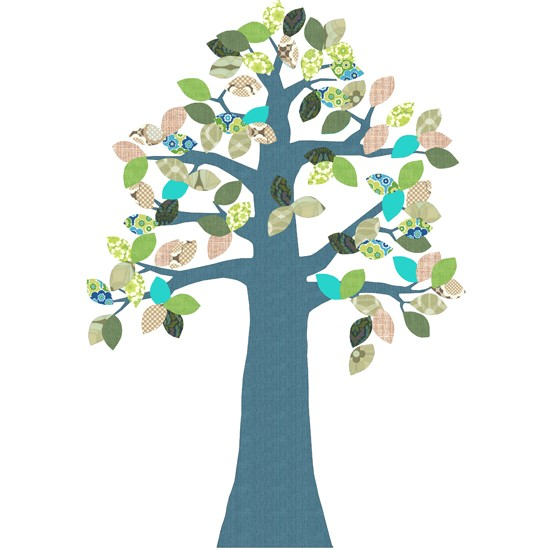 Tree from Supernice | Wall stickers for kids | Wall stickers | Children's rooms | PHOTO GALLERY | Housetohome