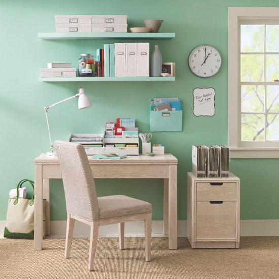 We love Martha Stewarts fabulous new home office range