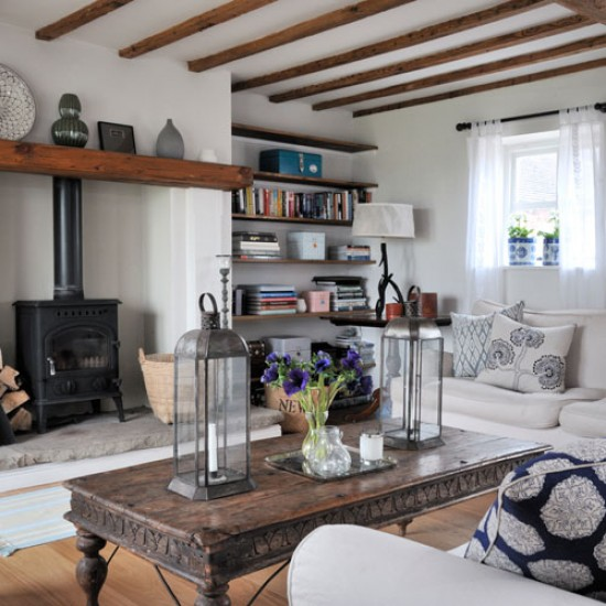 Eclectic | House tour | Country home | Ideal Home |housetohome