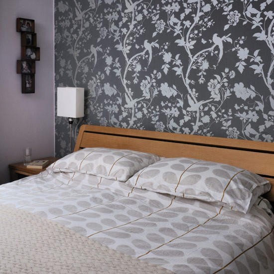 wallpaper bedroom feature - photo #16