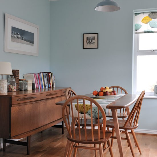 Dining Room 1950s inspired Detached House Housetohomecouk