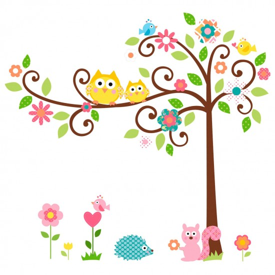 Jomoval Scroll Tree Wall Sticker From John Lewis Stickers Home Decoration PHOTO