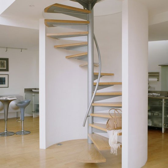 Inspiring spiral staircase staircase design ideas for Spiral stair design