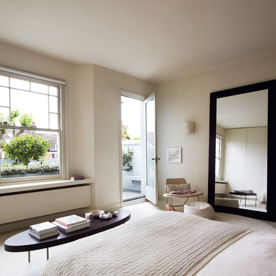 Master bedroom | Step inside a calm Edwardian terraced home in north London | Modern terraced house | House Tour | PHOTO GALLERY | Livingetc | Housetohome