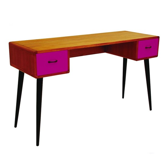 Mid-century colour drawer desk from Artisanti | Dressing tables - 10 new styles | dressing tanbles | bedroom | PHOTO GALLERY | Housetohome