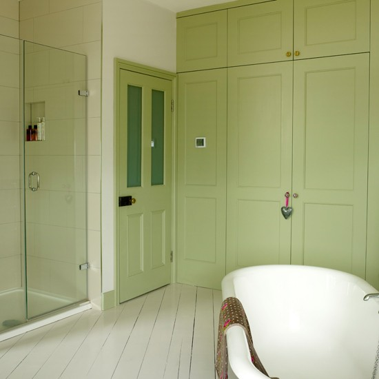Apple Green Country Bathroom Country Decorating Ideas