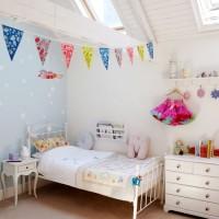 Fun coastal children's room