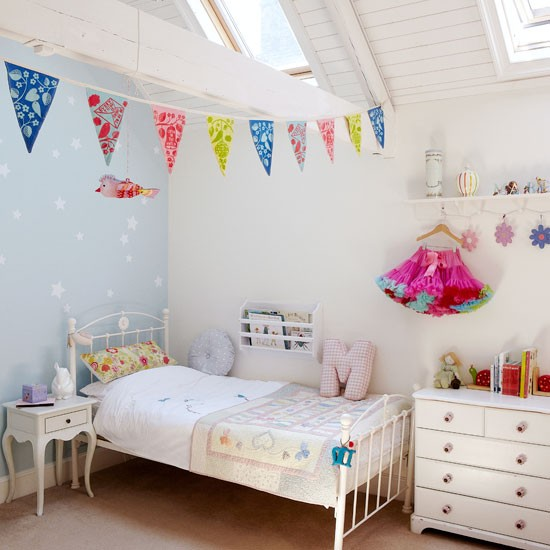 Fun coastal children's room