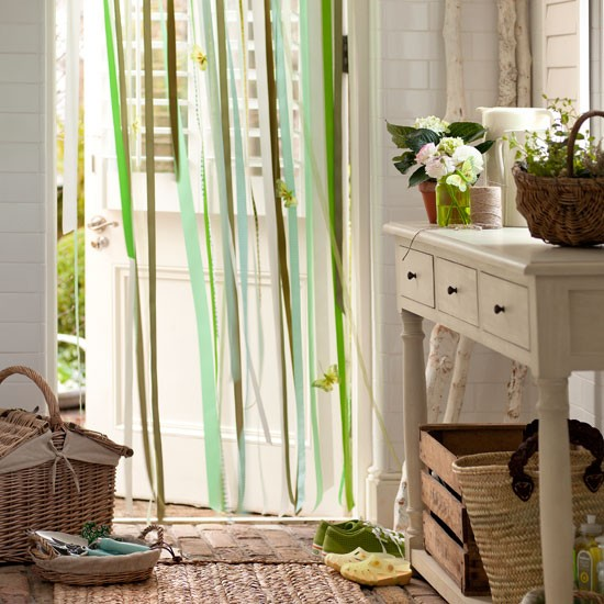 Pretty green utility room country decorating ideas - Pretty green rooms ...