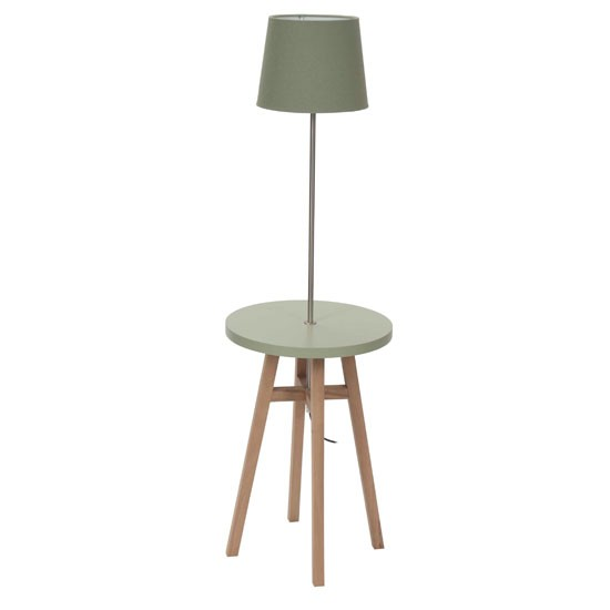 Floor Lamp With Table Casual Cottage